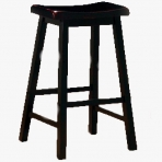Saddle Stool - Black