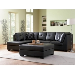 Black Bonded Leather