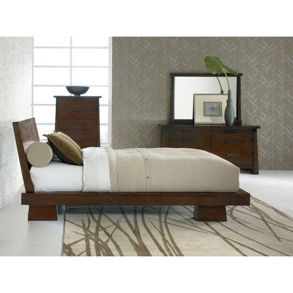 Hida bed passion decor for Asian inspired bedroom sets