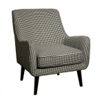 Zoe Houndstooth Accent