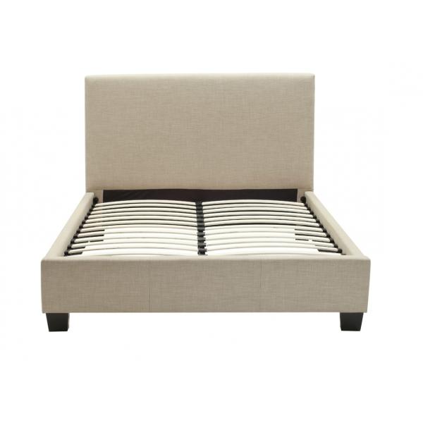 Platform Bed Frame Ashley Furniture : Upholstered platform bed queen eresting decoration