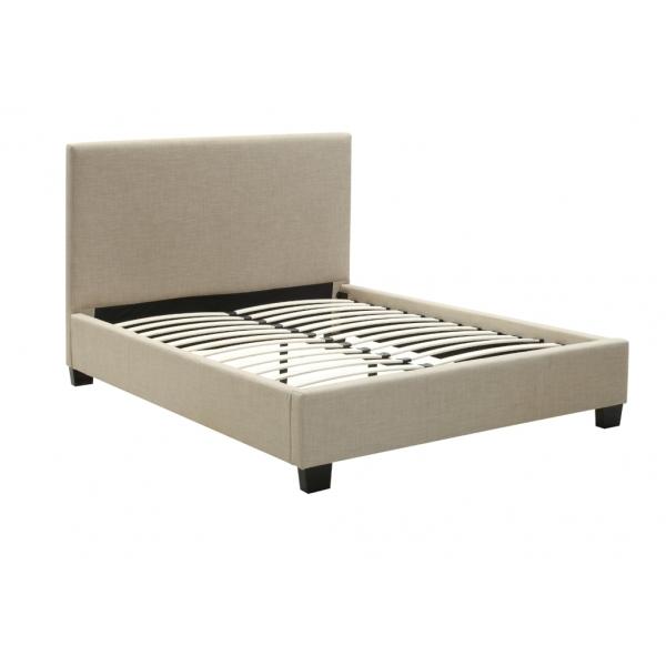 Eagan Linen Upholstered Platform Bed Frame - Passion Decor