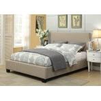 Eagan Linen Upholstered Platform Bed Frame