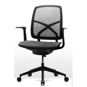Black Mid Back Mesh Chair